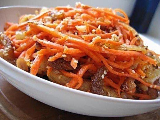Морковный суп с имбирем для похудения